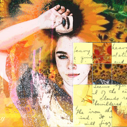 freetoedit sunflowers watercolor cursive offgrideffect ecoffgrideffect