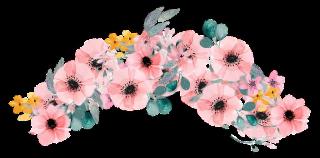 Pink flower crown flowercrown sticker by liz report abuse izmirmasajfo