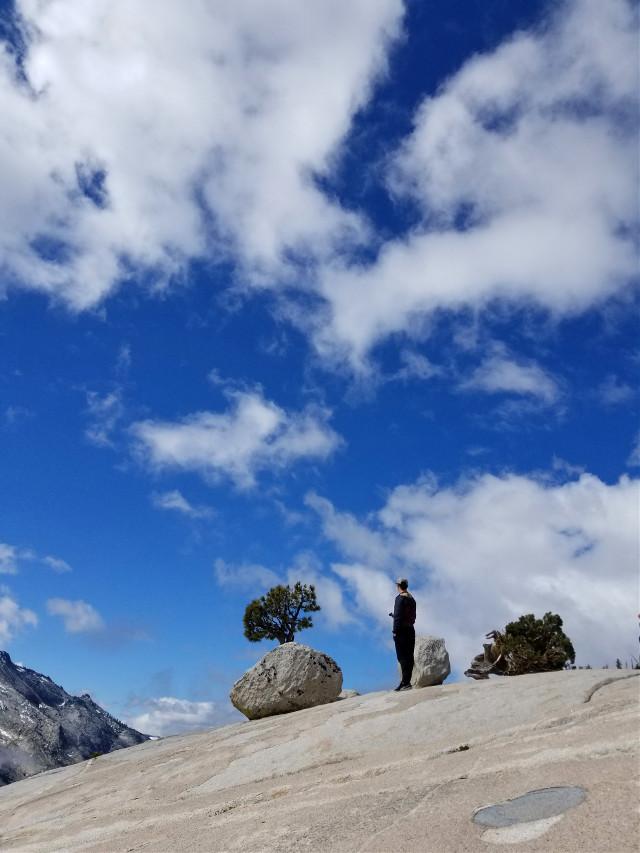 Climbing rocks  #freetoedit