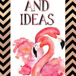 freetoedit notes flamingo typography paper