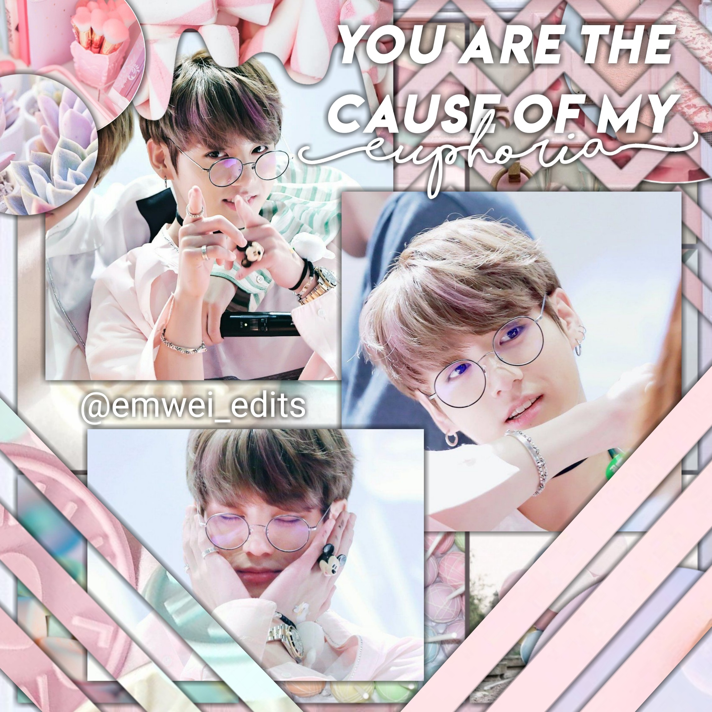 Bts Jeon Jungkook Pastel Pink Aesthetic Edit Jk