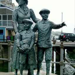 photography landmark ireland statue pcartwork