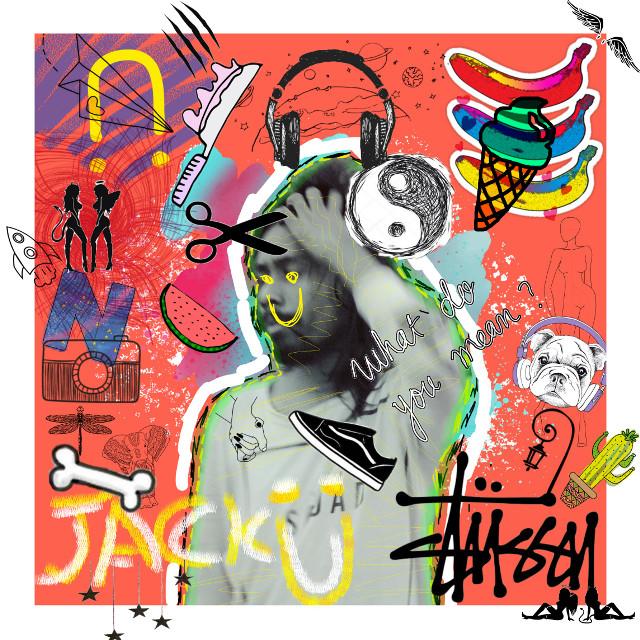 #freetoedit #jacku #remix #scribbles #doodleart #doodle #picsart #dj #mix
