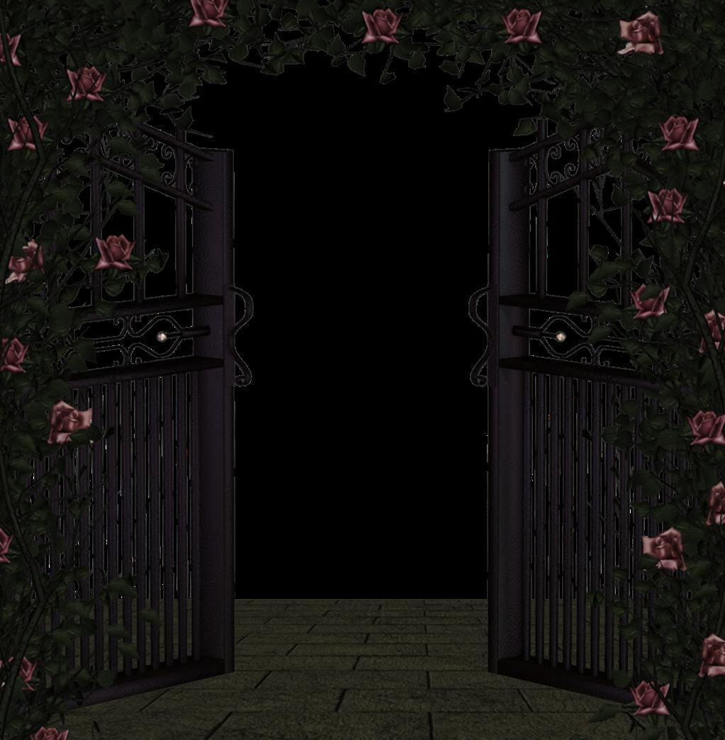 Ворота сказочные анимация