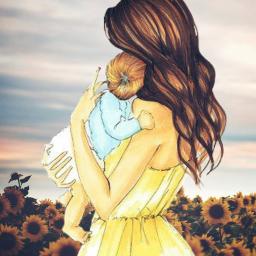 cute mom2 love edit freetoedit