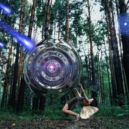 universe explotion freetoedit ircforest forest