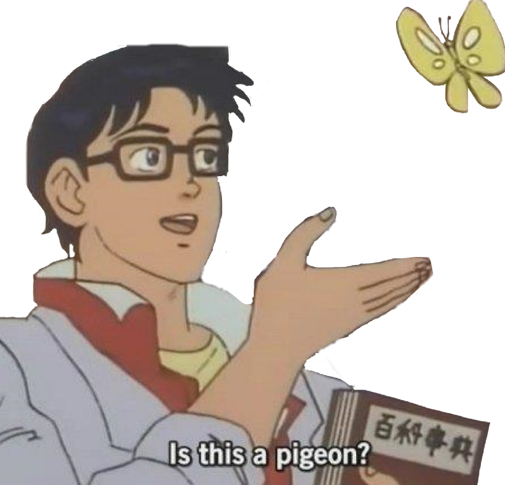Anime Memes Butterfly