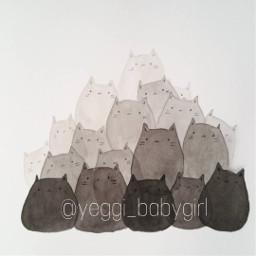cute kittens kittys art my_art