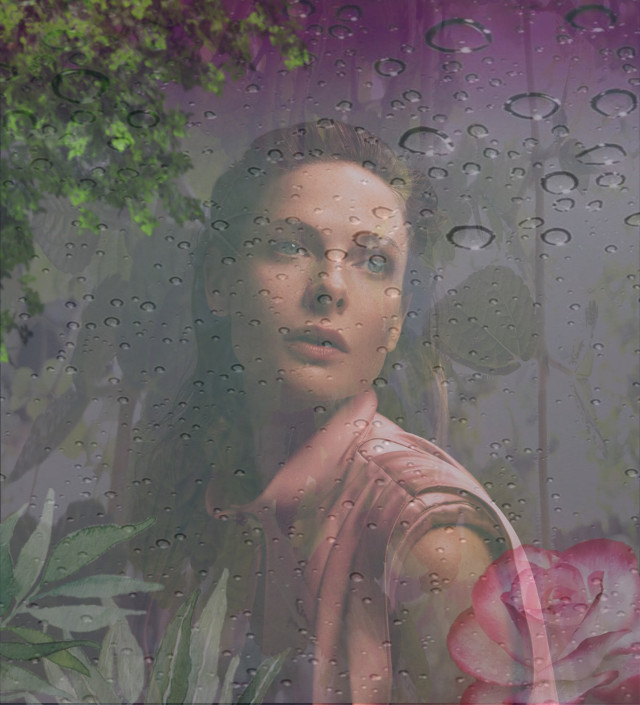 -This is my first remix with stickers, so hope you'll like it😁👍🌸 @flauntmagazine @picsart   #freetoedit #MyFirstRemix #MyEdit #WithStickers #RebeccaFerguson #FlauntMagazine #Rain #Window #Plants #Shadow #Indonesia🇮🇩