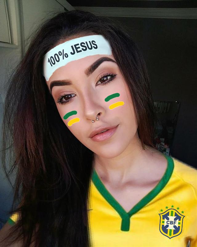 #freetoedit #fifa #copa #brasil #100% #jogo #futebol #esportes #soccer #edit #girl #hexa #dcsports #mundial2018 #worldcup2018 #sports #worldfootball