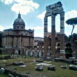 roma fororomano onedaytrip onedayinrome chiesasanticosmaedamiano