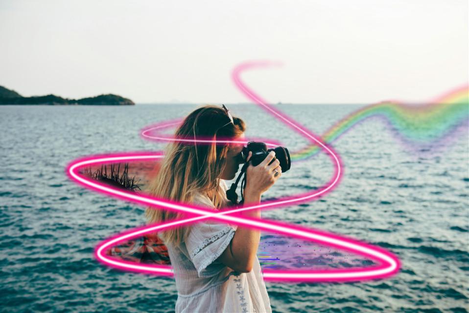 #freetoedit #fotography #rainbow #remix