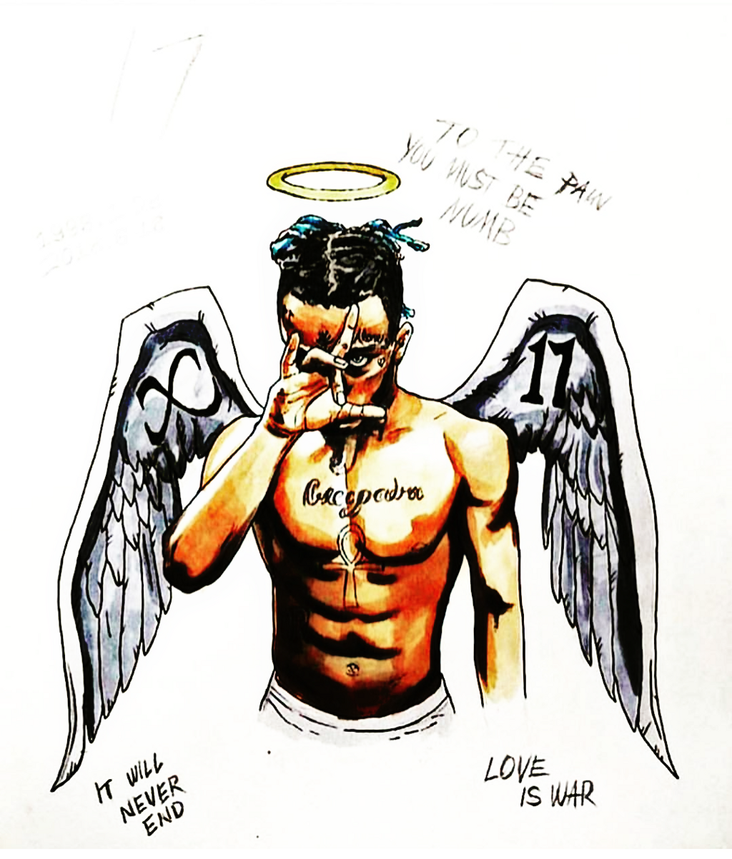 Drawing Xxxtentacion: Image By Juniorputiano