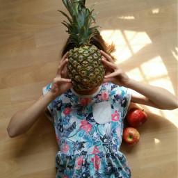 ananas apfel obstsalat pcfruitselfie fruitselfie