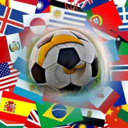 freetoedit soccer football flag ecflagoverlay