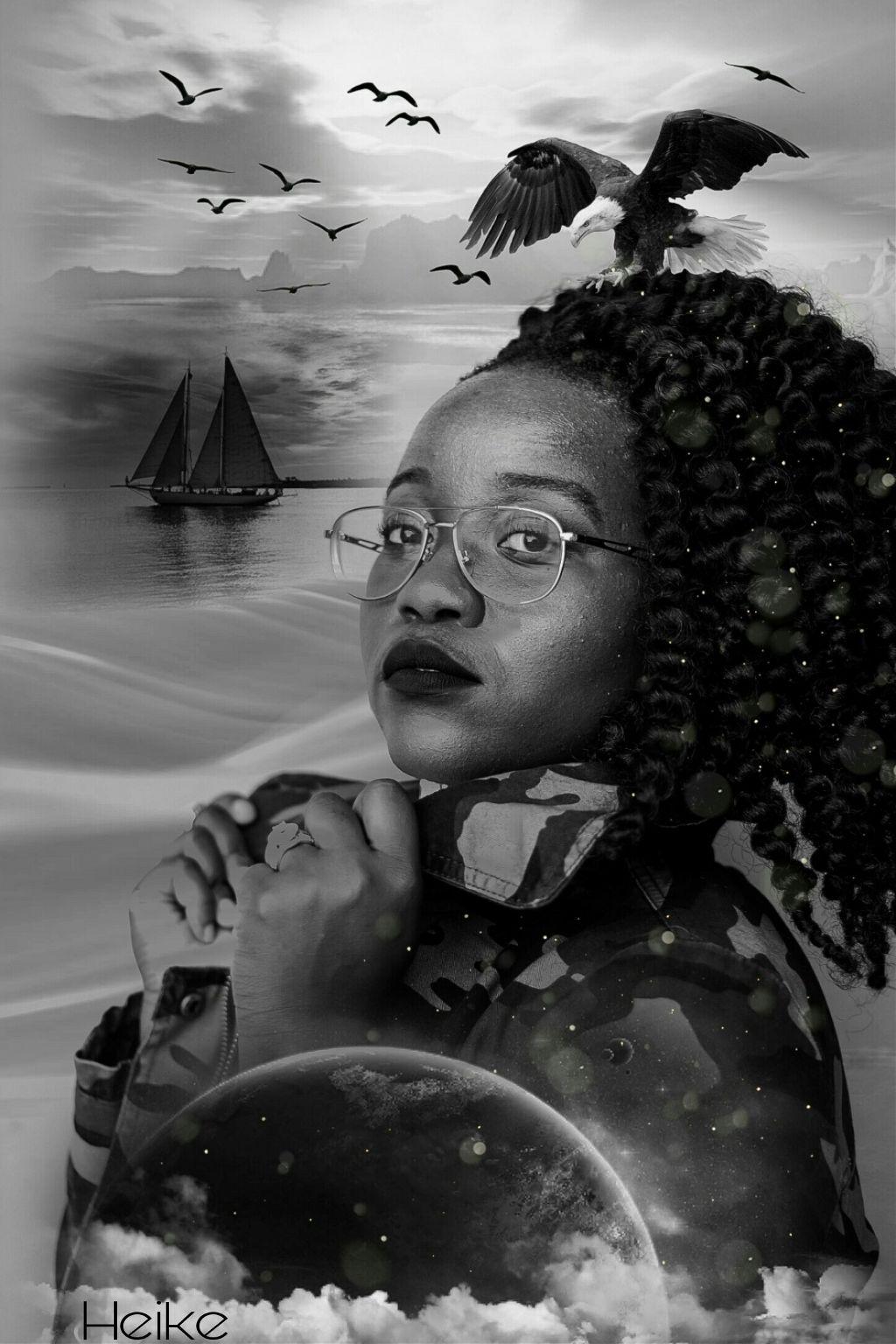 #freetoedit #onesparklebrush #blackandwhite #fantasyart #surreal#astheticart#myedit#madewithpicsart #remixit #multiexposure