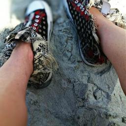 shoes brokenbutglued justlikeme newjourney scary
