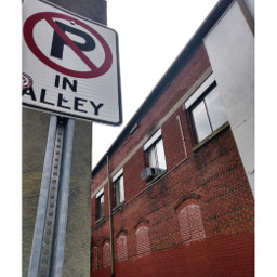 alley urban downtown