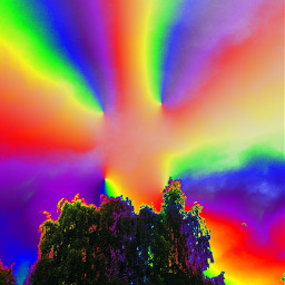 freetoedit picture colorfulworld trippy nature