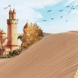freetoedit castle sand sandcastle remixit