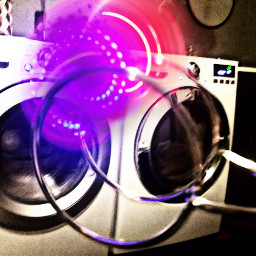 freetoedit laundryday neon spinner fun