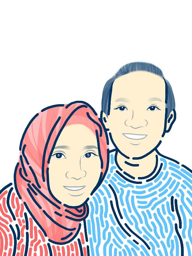 Being together . Made with Color by @picsart apps #GambarDiHape 🔄 #Sketsabi . #Skecth #LineArt #DigitalArtwork #DrawOnSmartphone #illustration #portrait #girl #madewithpicsart #art #drawing #handmade #drawonphoto #digitalpainting #pang  #freetoedit