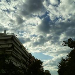 skylovers sky greece cloudysky clouds
