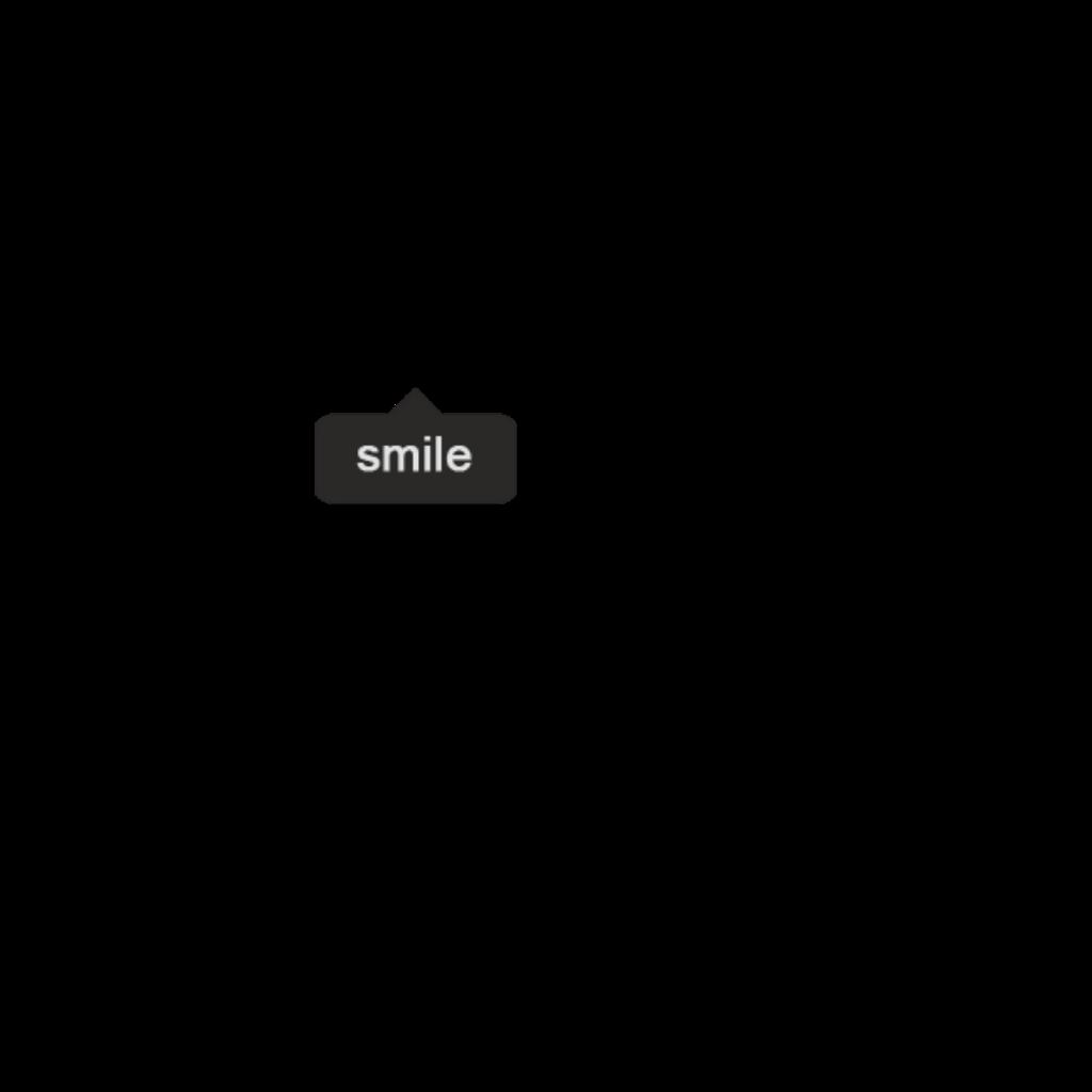 Smile Black Balloon Text Tumblr Photography