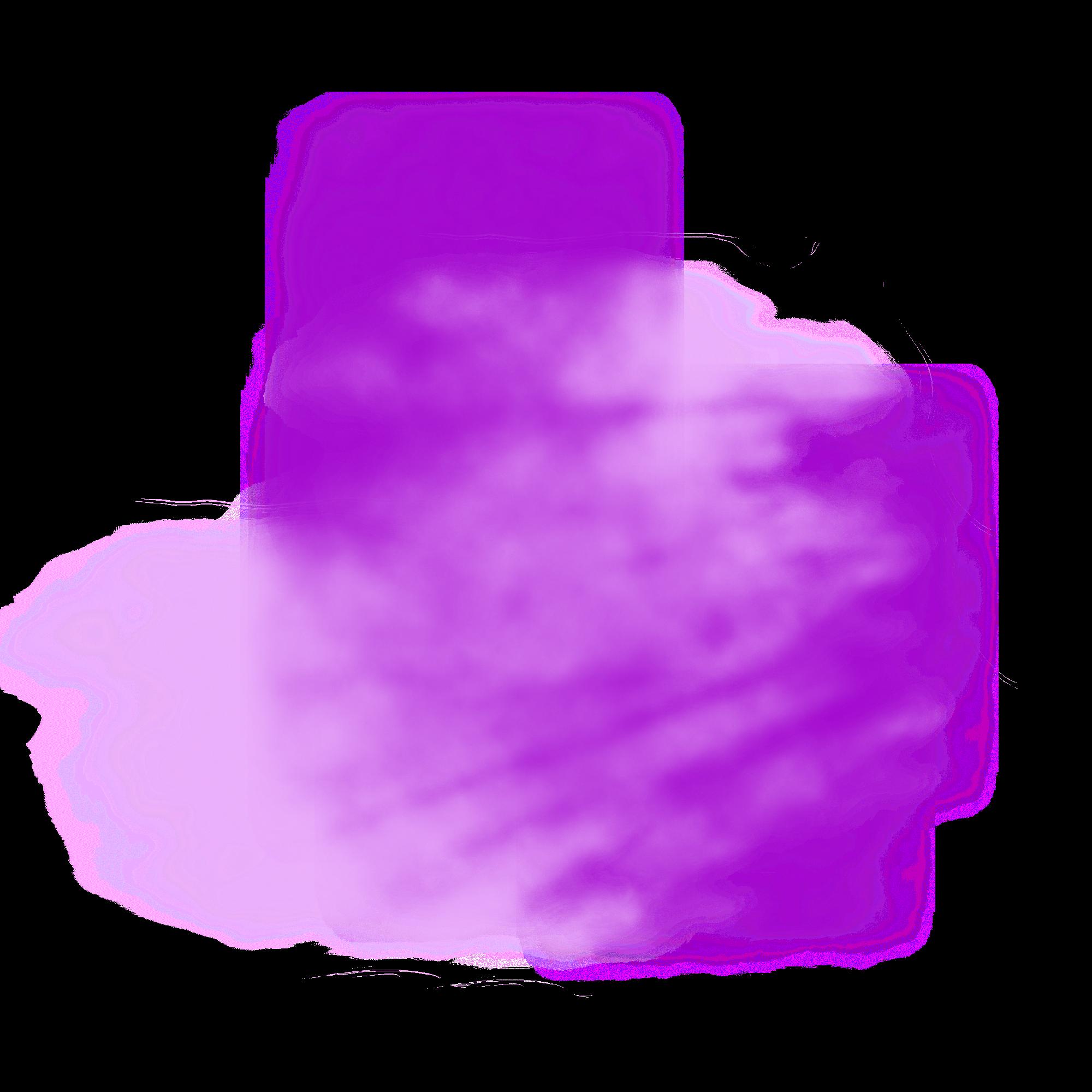 ftestickers mist fog purple - Sticker by Pennyann