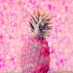 freetoedit remix pineapple🍍 pinkpineapple fruit