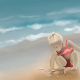 dcbeachday beachday girl child sand freetoedit