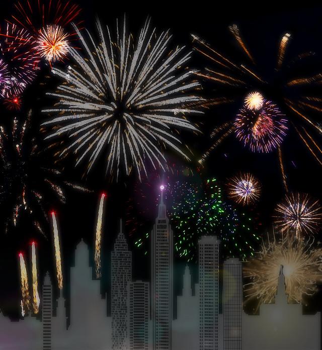#freetoedit #fireworks #cityscape #lightitup #lensflare
