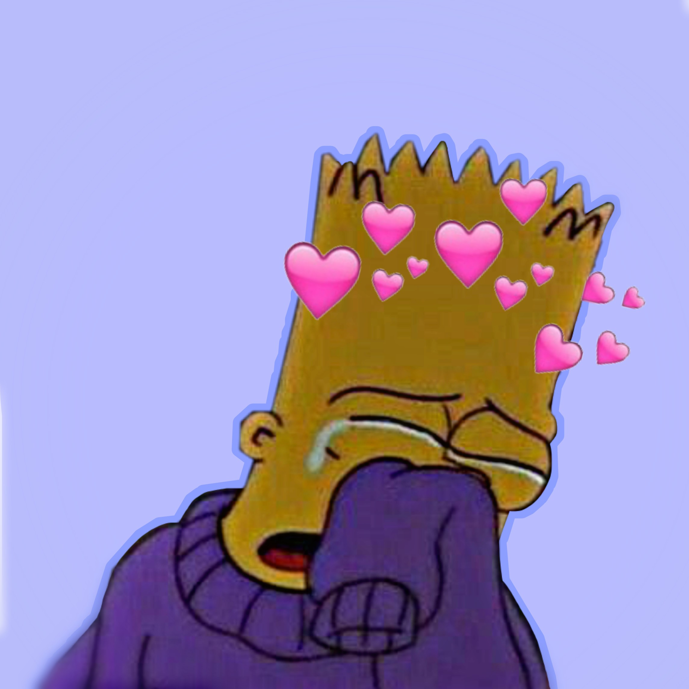 Freetoedit Boy Bartsimpson Crying Bart
