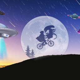 freetoedit ufo alieninvasion extraterrestrial ircmeteorday