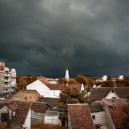 storm sky beautiful city myphoto