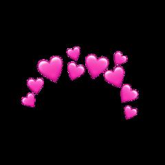 corona emljis corazones love freetoedit