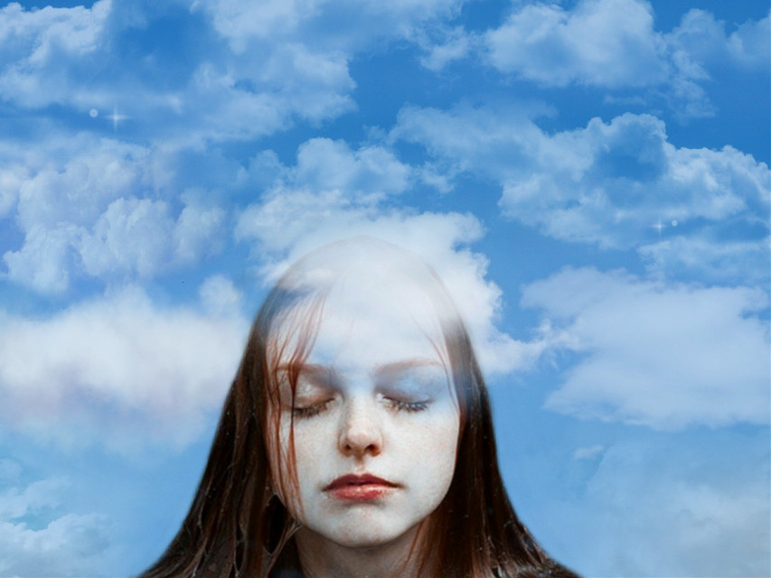 Head in the clouds💭 #freetoedit #clouds #cloud #cloudsandsky #cloudshapes #cloudyskies #cloudysky #head #girl #headintheclouds