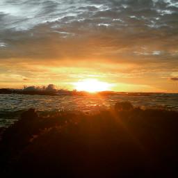 sunsets sunrise sun beach sea