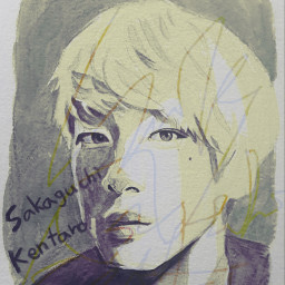 sakaguchikentaro actor japan people drawing