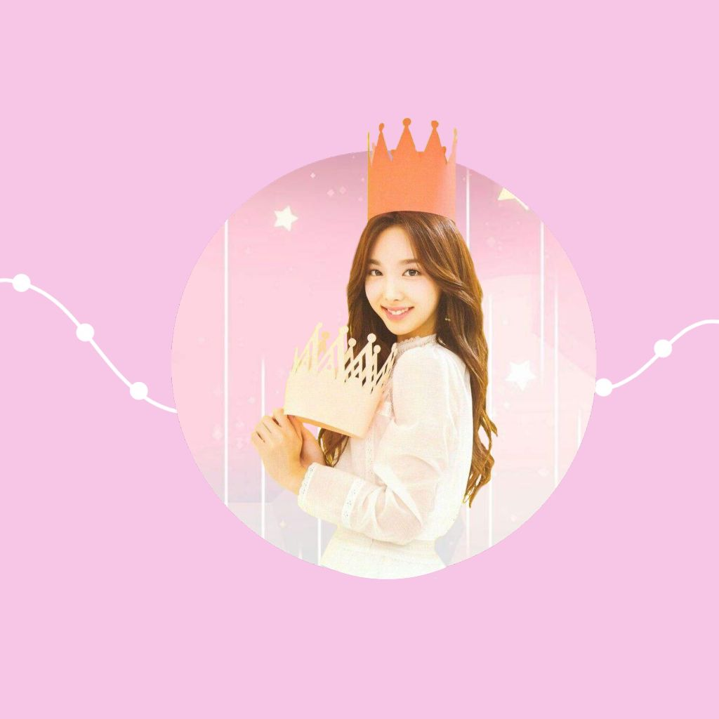 Freetoedit Twice Pink Naeyon Simple Kpop Wallpaper