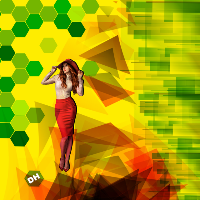 #freetoedit #hexagons #hexagonos #girl #shadow #HD
