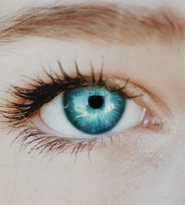 Ocean Blue💙  #freetoedit #picsart #eye #nikon