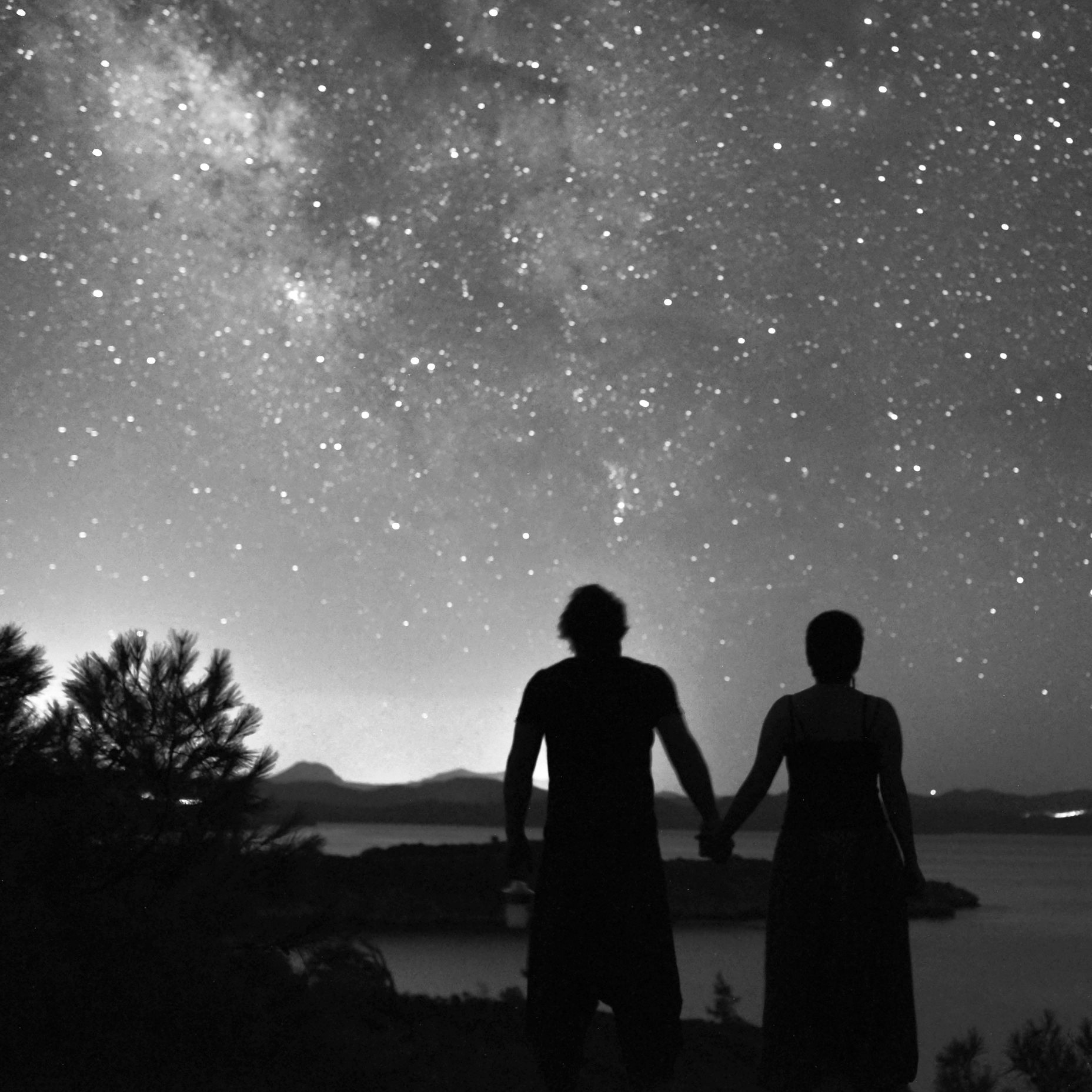 #freetoedit #bw #bnw #longexposure #blackandwhite #milkyway #stars #bwphotography #bnwphotography #love