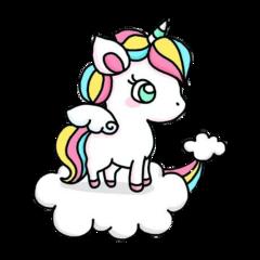 unicorn rainbow sweet kawaii kawaiiunicorn freetoedit