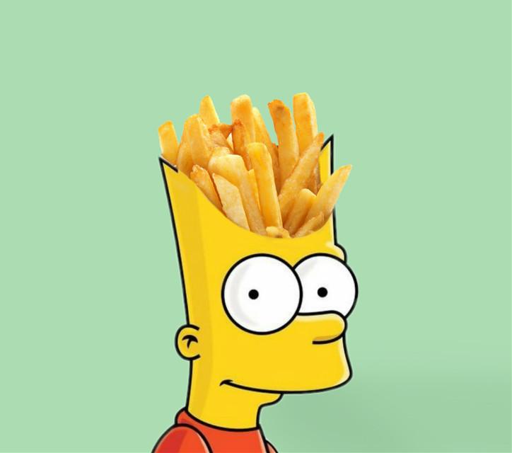 #bartsimpson #thesimpson #fries #chips