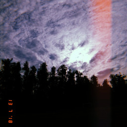 freetoedit nubes bosque paisajesnaturales paisaje