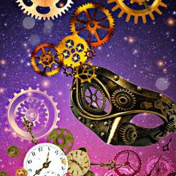 freetoedit gears clock masks