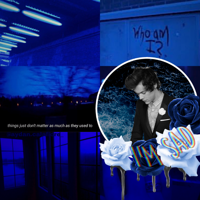 Harry Styles #freetoedit #harrystyles #harryedwardstyles #styles #blue #blueaesthetic