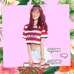 gfriend cute yuju summer sunnysummer freetoedit