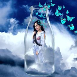 freetoedit jannatzubairfc_bd sky background bottle